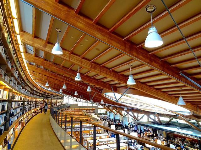 Takeo city library + Tsutaya book store + Starbucks store, 武雄市図書館・蔦屋書店, Japan