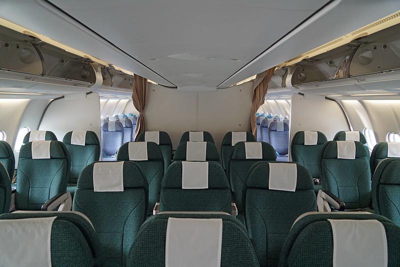 Cathay Pacific Premium Economy Class Cabin