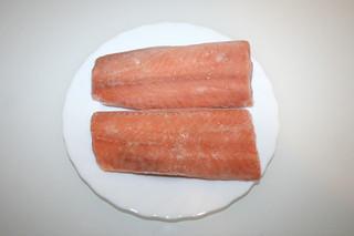 02 - Zutat Wildlachs / Ingredient wild salmon
