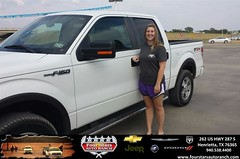 #HappyAnniversary to Chris Ervin on your 2009 #Ford #F-150 from Tracey Frerich at Four Stars Auto Ranch!