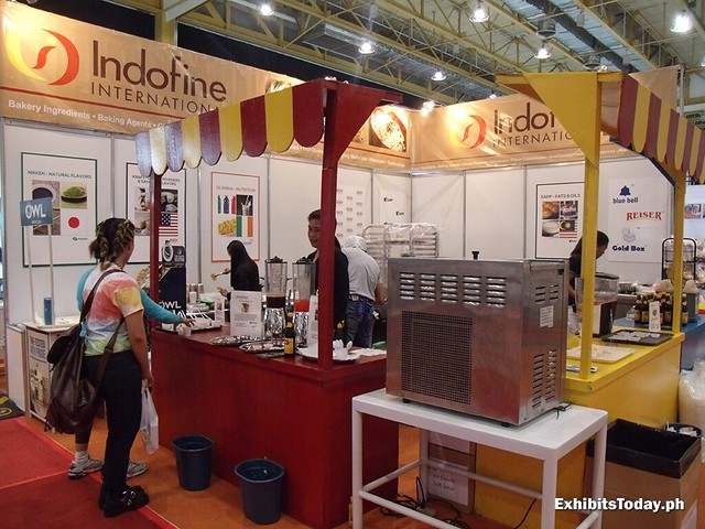 Indofine Exhibit Stand