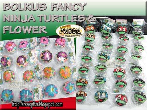 Ninja Turtles and Flower Bolfan