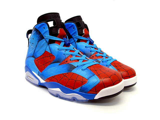 Spiderman Air Jordan VI