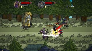 Кооперативный beat 'em up Viking Squad выйдет на PS4 в 2015 году