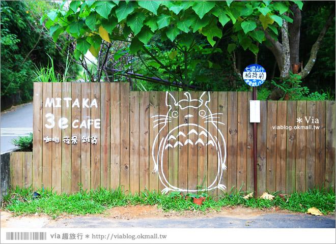 【台中夜景餐廳推薦】台中龍貓夜景~MITAKA 3e Cafe◎大推薦的台中約會地點♥ 3