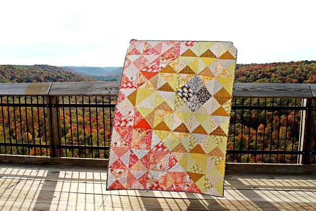 An Autumn Sun Quilt
