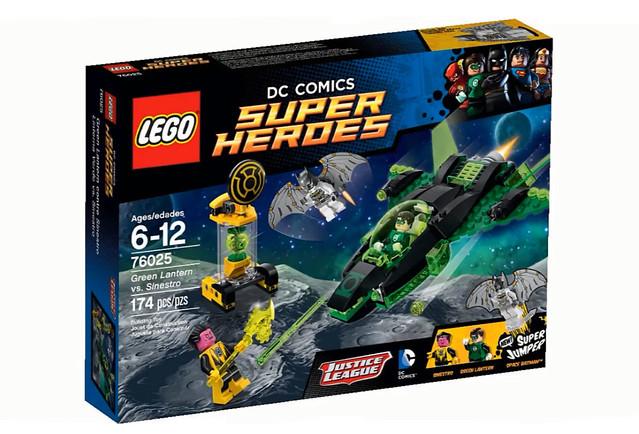 LEGO Super Heroes DC Comics 76025 - Green Lantern vs. Sinestro