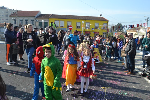 Carnaval em parceria com as escolas 1º Ciclo e JI de Fânzeres