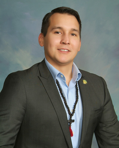 Tribal Council Treasurer Clinton Lageson