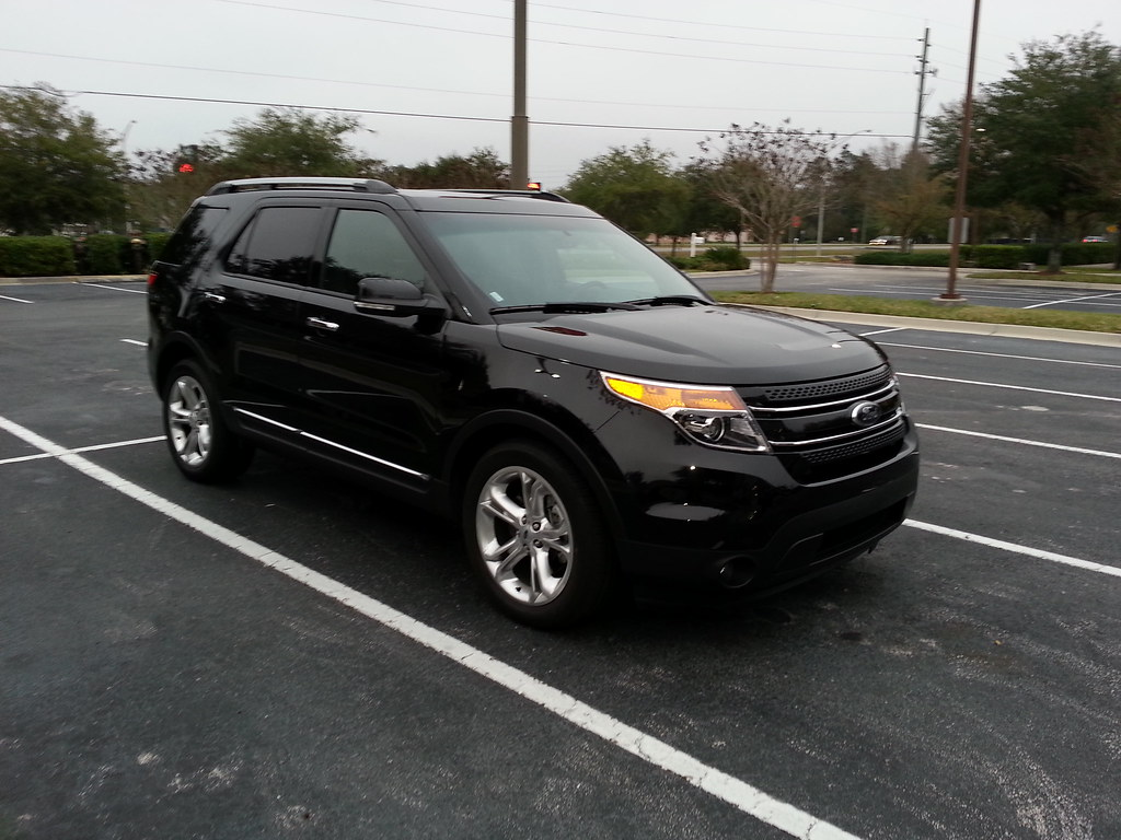 2014 ford explorer suv black paint 5 star painted alloy wheels cold