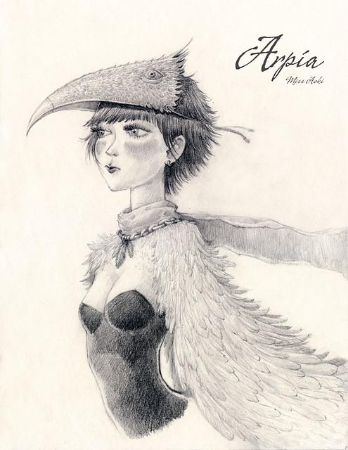 Arpía // Harpy