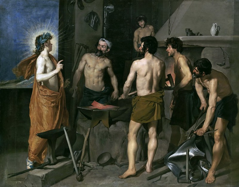 Diego Velázquez - The Forge of Vulcan (1630)