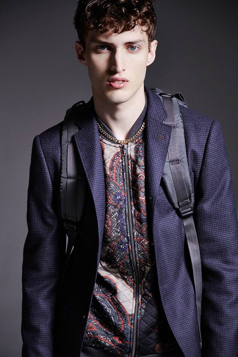 Charlie France0304_River Island's Fall Winter 2014 Lookbook(sight Management Studio)