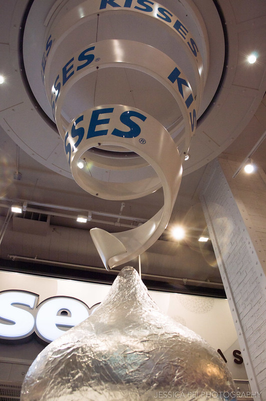 Giant Hershey's Kiss in Hershey's Store at Times Square
