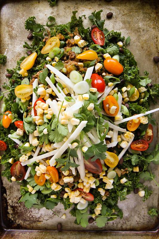 Kale Taco Salad
