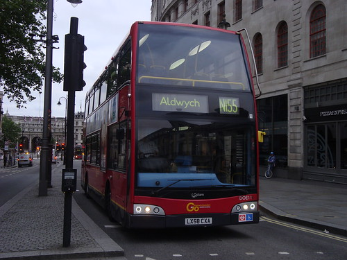 London General DOE11 on Route N155, Charing Cross