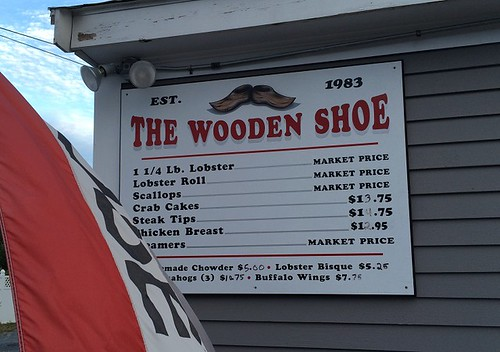 Wooden Shoe Menu