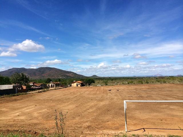 rural futebol field