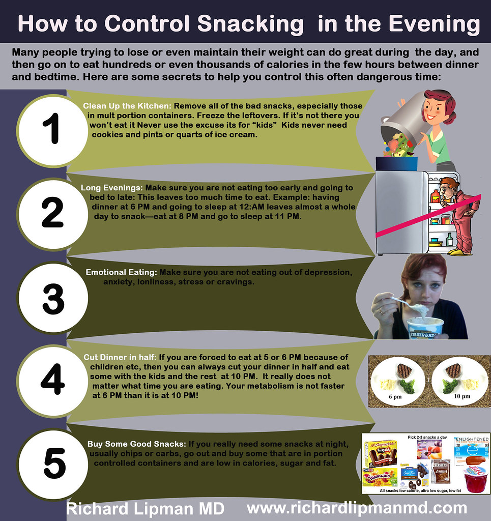 How to Control Snacking in the Evening