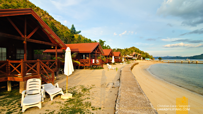 Cabanas at El Rio y Mar Resort in Coron, Palawan