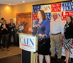 Cain Claims Victory 2