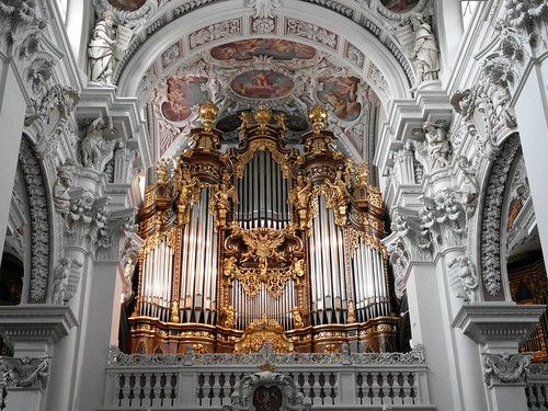 St. Stephen's Cathedral Organ - Passau Germany. ( Explore 03-07-14 ).