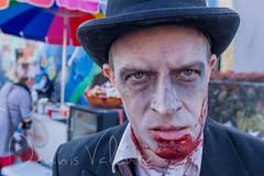 Zombie at HONK! Fest West