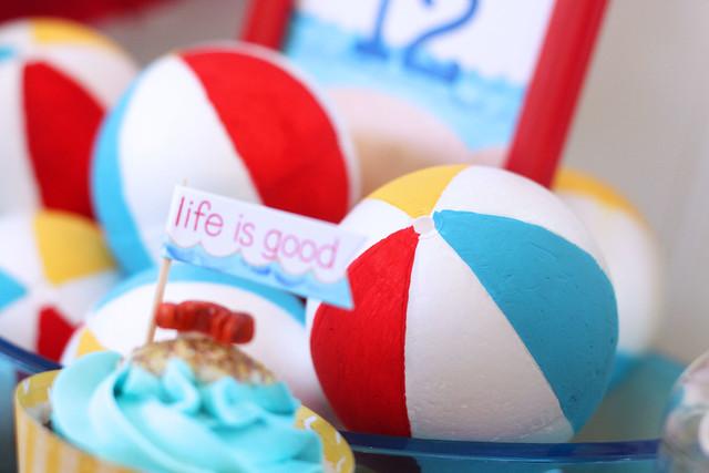 life's a beach...party!