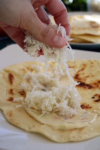 Tortillas maison aux beignets de maquereaux2