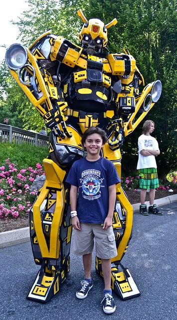 transformers - Hershey Park PA USA