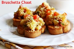 Bruschetta-Chaat