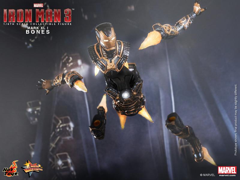 Hot Toys - Iron Man 3 - Bones (Mark XLI) Collectible Figure_PR14