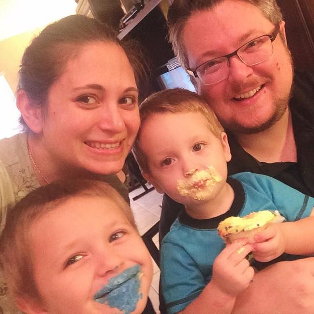 #pictapgo_app #cupcake #fun! Happy 2nd Birthday, William!!! We love you so much! #birthday #happybirthday
