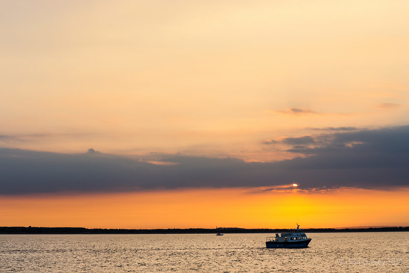 Sunset Off Studland Beach