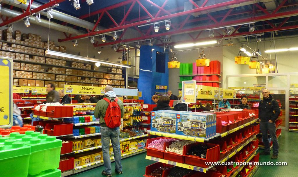 La tienda de LEGO donde se pueden comprar piezas a peso