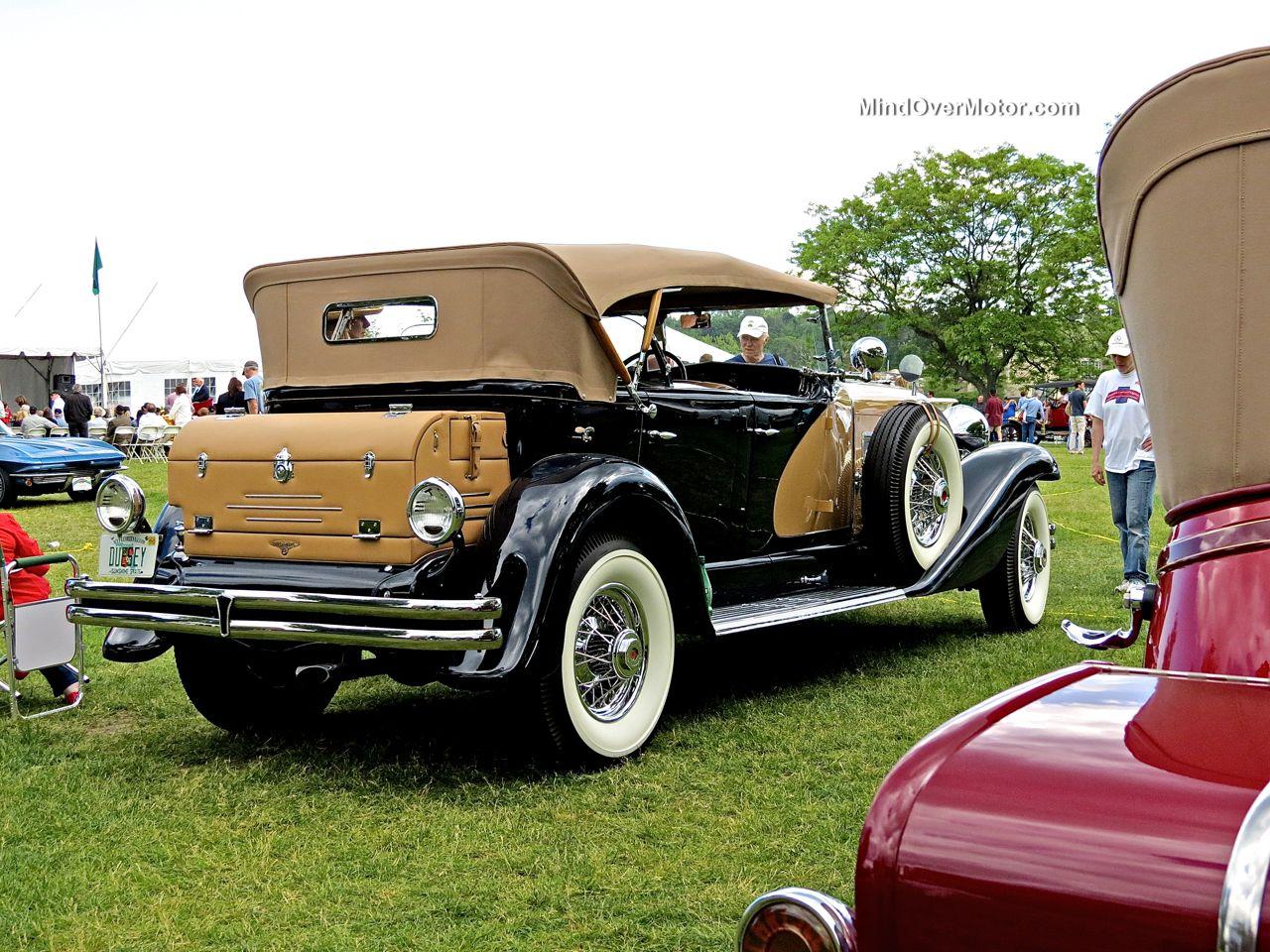1935 Duesenberg SJ562 Rear
