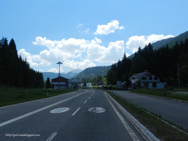 Пропуской пункт между Словенией и Австрией