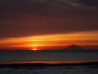 Shirahama Ohama Beach Sunrise