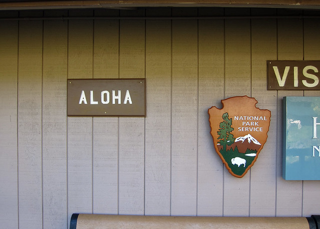 aloha from the national park service