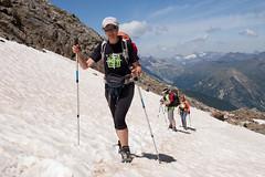 adventure, winter sport, footwear, mountain, walking, sports, recreation, outdoor recreation, mountaineering, mountain range, ski touring, ridge, extreme sport, hiking equipment,