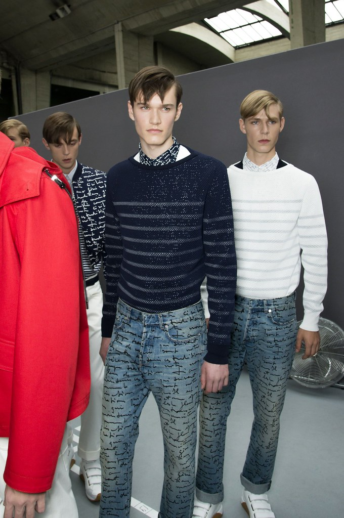 SS15 Paris Dior Homme237_Gustaaf Wassink, Charles Markham, Simon Fitskie(fashionising.com))