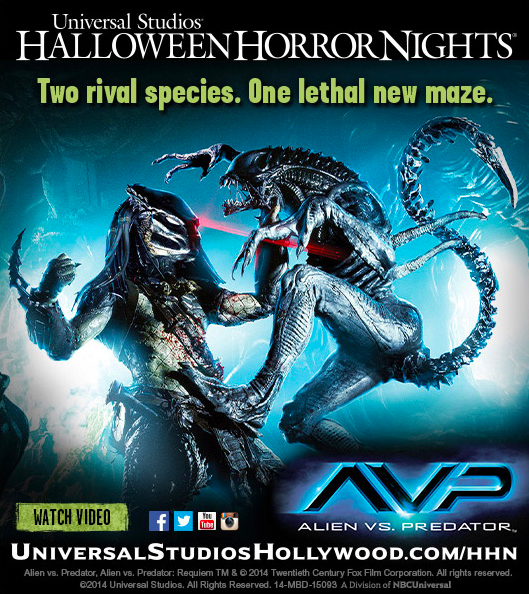 Universal Announces Alien vs. Predator Maze