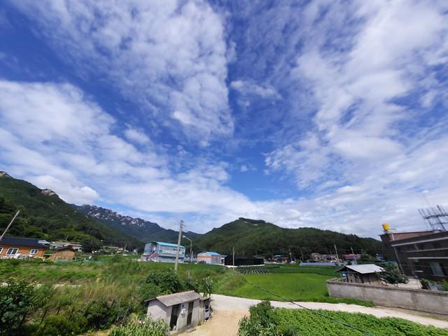 청공 | 시골집풍경