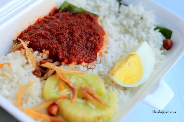 Kuala Lumpur Street Food Nasi Lemak