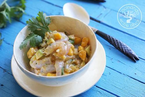 Cebiche de gambas www.cocinandoentreolivos.com (5)