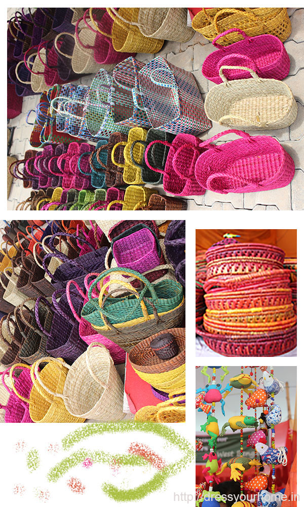 banana fibre baskets