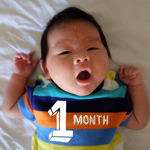 I'm 1 month today rawr!