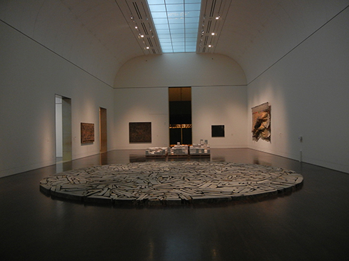 DSCN1248 _ Summer Circle, 1991, Richard Long, Blanton Museum, Austin