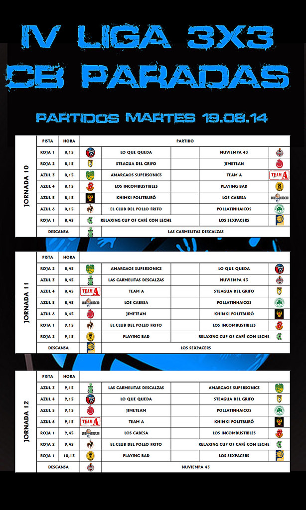 PARTIDOS DIA 04