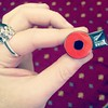 Pinched a pin (& a pen) off @libbyobrien #WW100